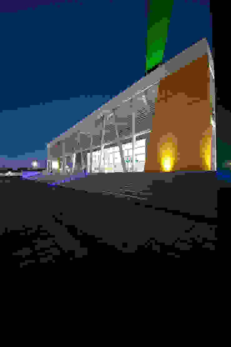 Gimnasio Nuevo León Unido Gimnasios domésticos modernos de Arquiplan Moderno