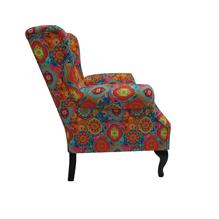 Wing chair Mythological Sunday Pop Culture von ¡Colorista Moderna! Ausgefallen