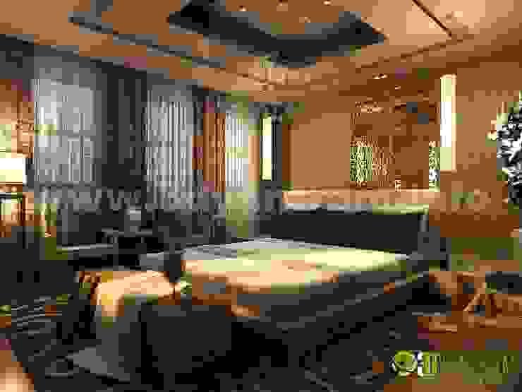 3D interni maestro classica camera da letto design studio di 3D Yantram studio di animazione