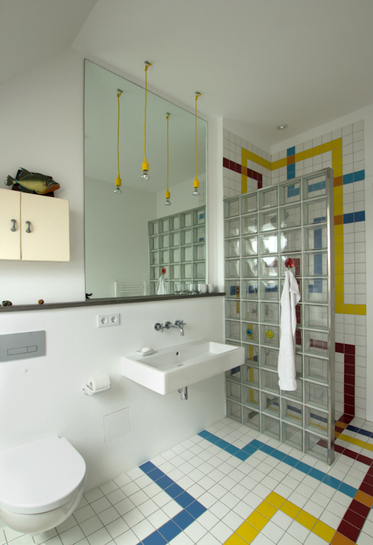 Eclectic style bathroom by Berlin Interior Design Eclectic
