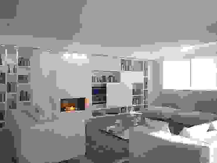Living room by Studio Frasson, Minimalist