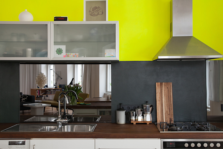 Eclectic style kitchen by Berlin Interior Design Eclectic