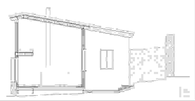 Sección Casas de Angar Arquitectos