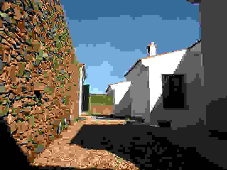 Zona Interior Casas de Angar Arquitectos