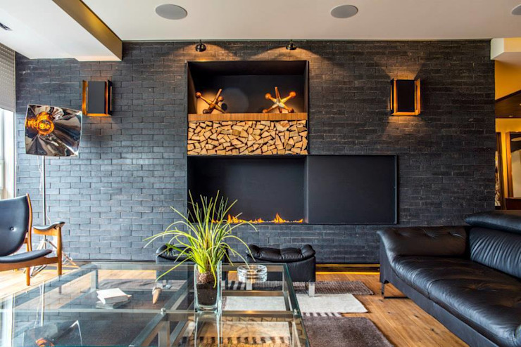 Living room by Sobrado + Ugalde Arquitectos, Eclectic