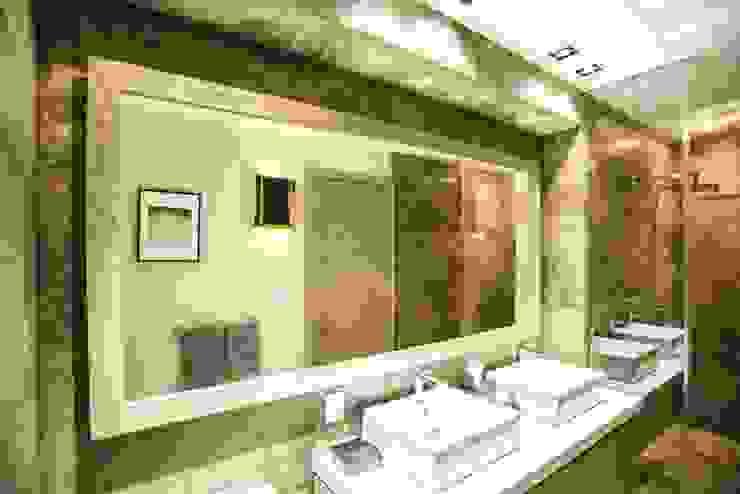 Veramonte I Baños eclécticos de Sobrado + Ugalde Arquitectos Ecléctico