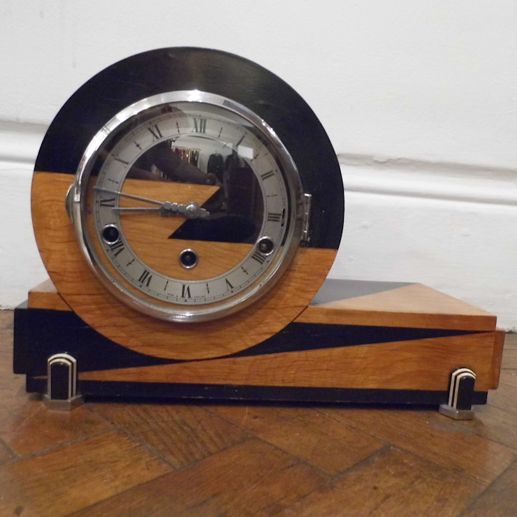 Art Deco Clock: classic  by Travers Antiques, Classic