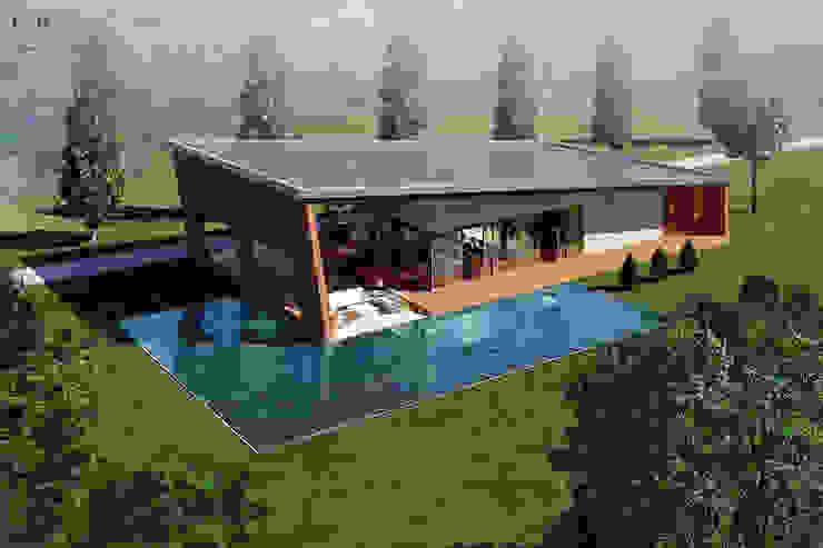 O.S. Çalışma Ofisi CO Mimarlık Dekorasyon İnşaat ve Dış Tic. Ltd. Şti. Modern Evler