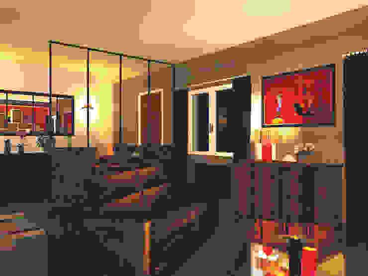 Salas de estar  por EPURE, Moderno