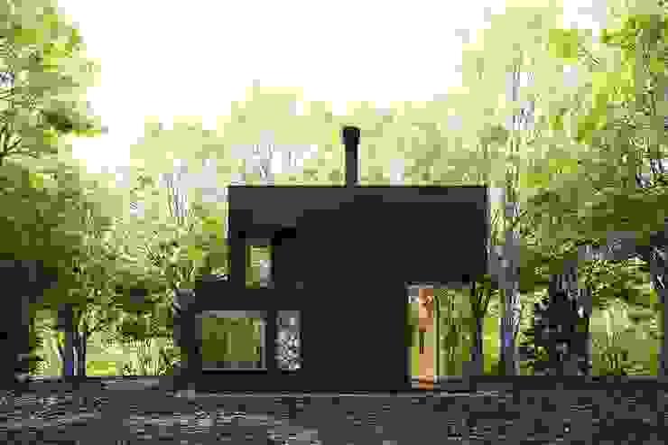 Render de un estudio para un escritor en NY Estudios y despachos de estilo moderno de Berga&Gonzalez - arquitectura y render Moderno