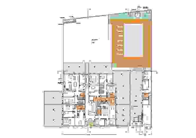 Plano de planta baja de BARCELONA ARQUITECTURA Clásico