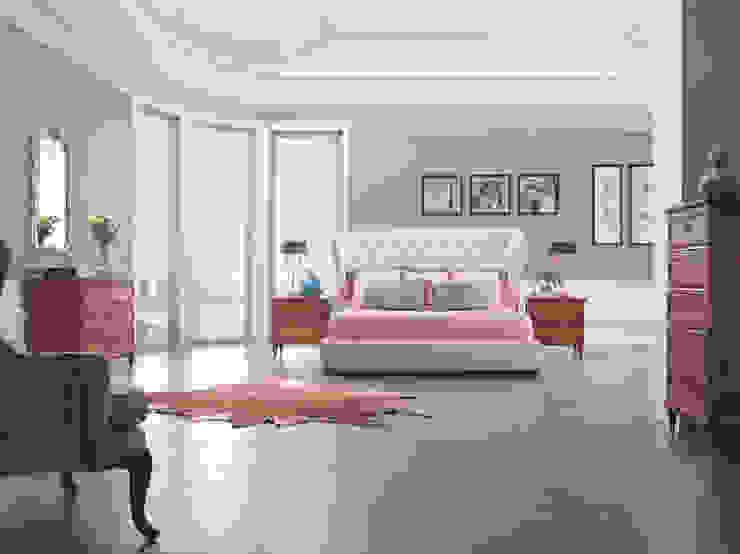 Спальня Mestre: Спальни в . Автор – Fratelli Barri,