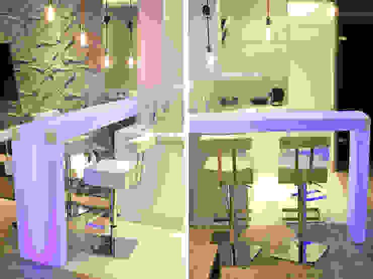 現代廚房設計點子、靈感&圖片 根據 k.halemska 現代風