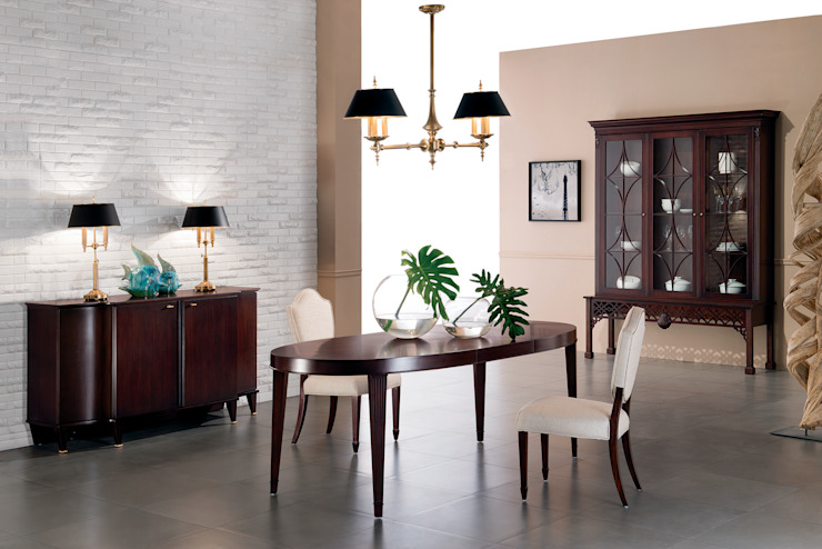 Столовая Mestre Столовая комната в классическом стиле от Fratelli Barri Классический