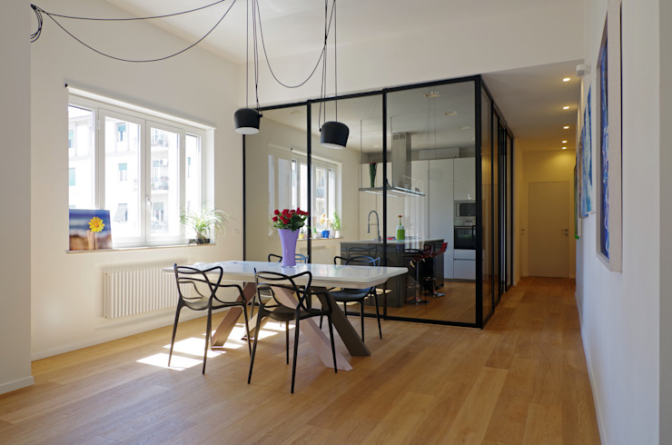 House A1 Modern living room by Studio Associato 3813 Modern