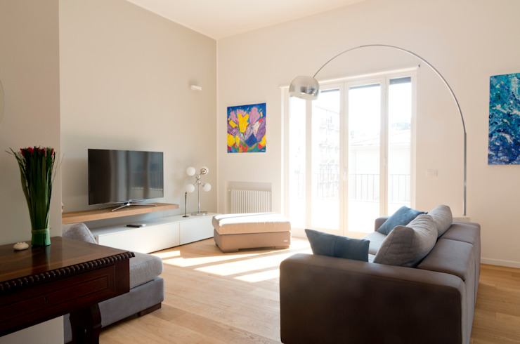 Salas de estar  por Studio Associato 3813, Moderno