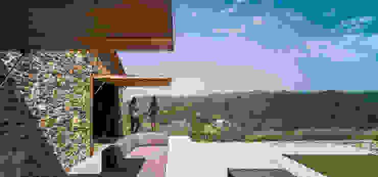 Villa CP by ZEST Architecture Rustic