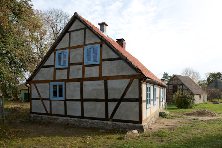Konzept Rustikale Häuser von Gabriele Riesner Architektin Rustikal