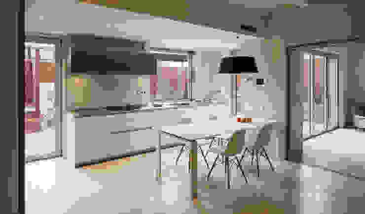 Dúplex en Gracia Comedores de estilo moderno de ZEST Architecture Moderno