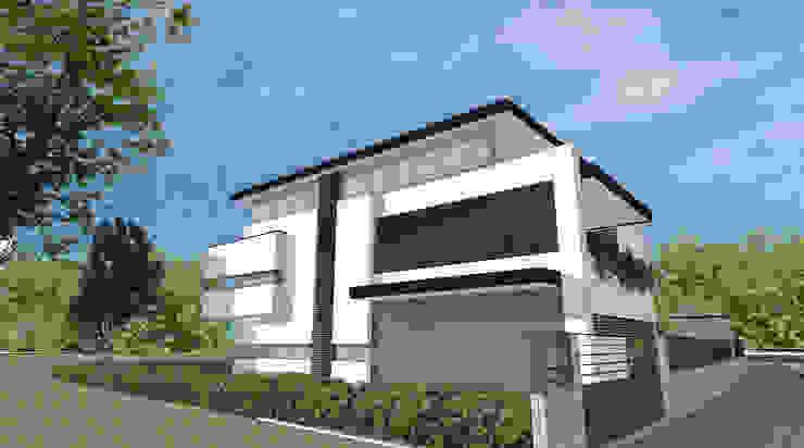 House M+G di Franzoni Studio Moderno