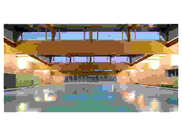 Sala de aguas Gimnasios domésticos de Pallejà-León Arquitectes SLP
