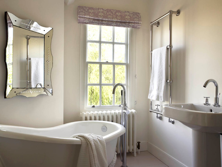 Bathroom, The Wilderness, Wiltshire, Concept Interior Concept Interior Design & Decoration Ltd Baños de estilo clásico