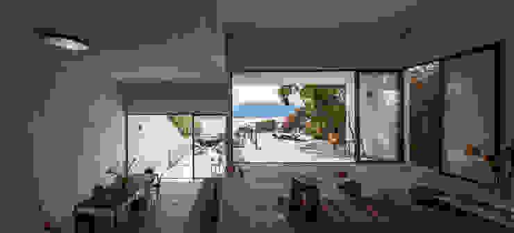 Balkon, Beranda & Teras Minimalis Oleh Dellekamp Arquitectos Minimalis