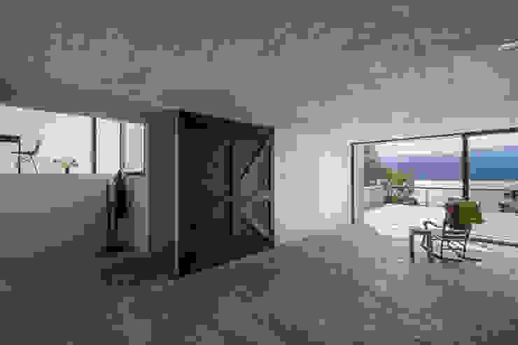 Balkon, Beranda & Teras Gaya Rustic Oleh Dellekamp Arquitectos Rustic