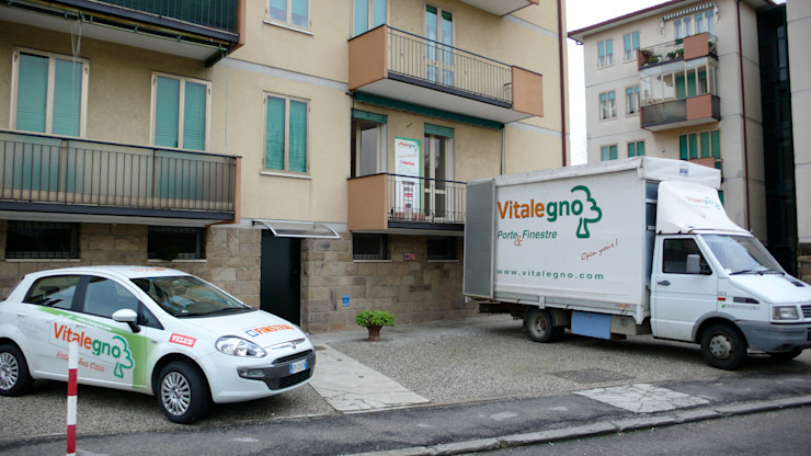Ristrutturazione a Padova Case moderne di Vitalegno Sistema casa Moderno