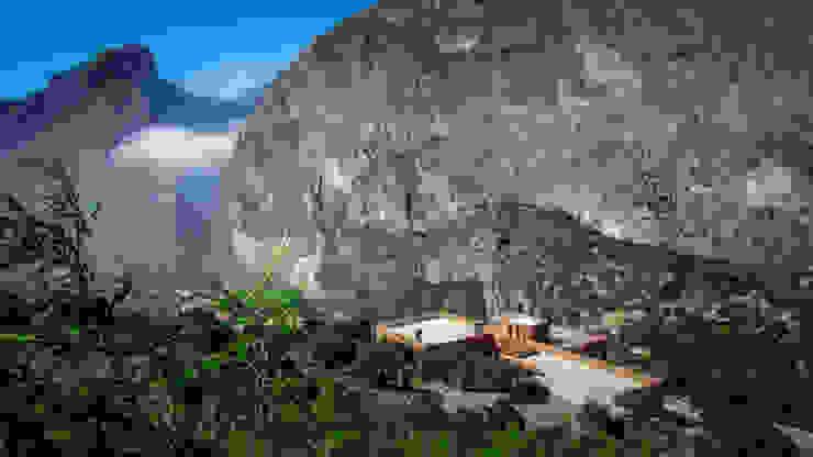 Casa Narigua : Casas de estilo  por P+0 Arquitectura, Moderno