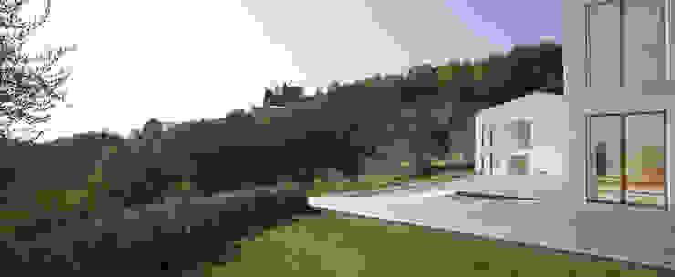CASA OLEARIA PAIGLE . LAGO DI GARDA Minimalistische Pools von brandl architekten . bda Minimalistisch