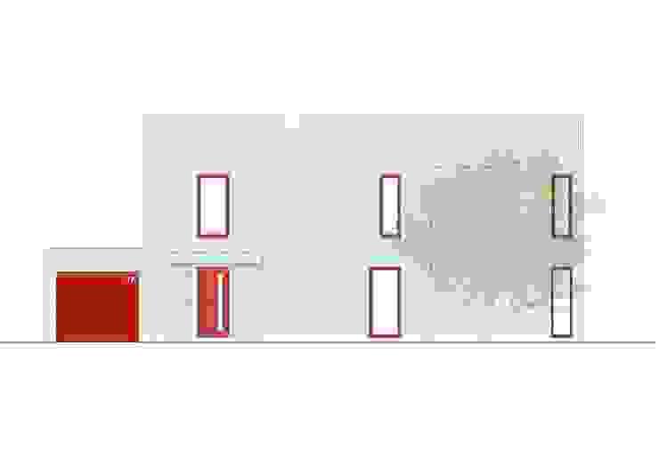 FORNTANSICHT von Architekturbüro Chylek Minimalistisch