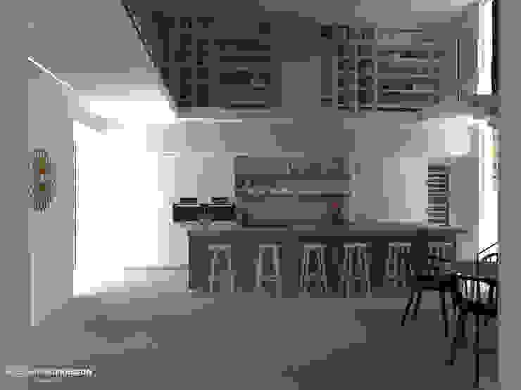 Studio Frasson의  주방