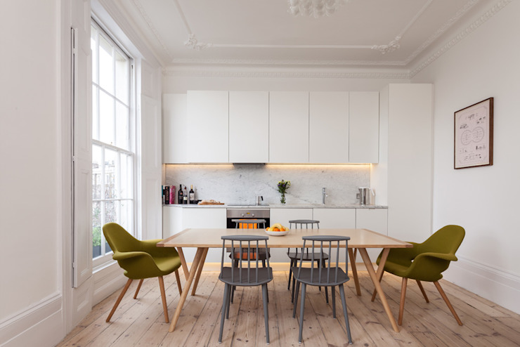 Dining room by Architecture for London, Modern