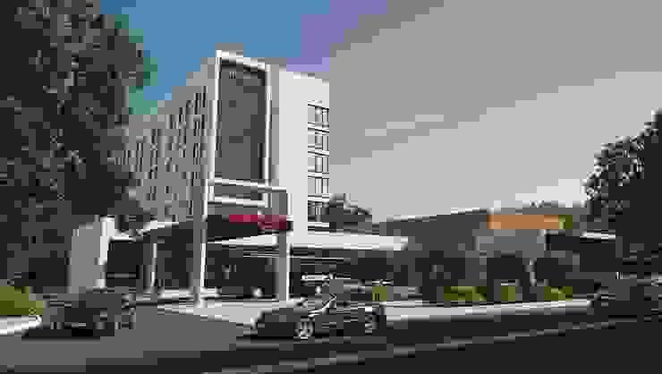 Hampton by Hilton Volgograd Moderne Hotels von NEO Atelier GmbH Modern