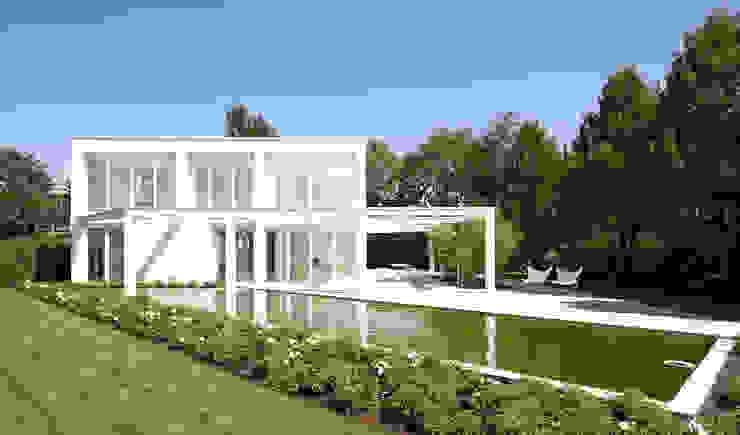 HAUS G. REGENSBURG Minimalistische Häuser von brandl architekten . bda Minimalistisch