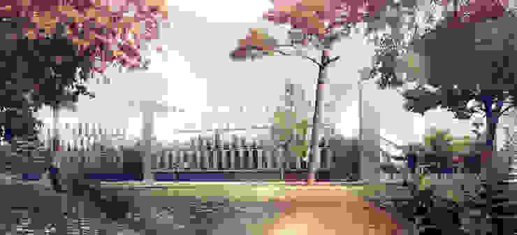 Laboratoires de L'école Polytechnique à Palaiseau par Atelier Michel Remon Moderne