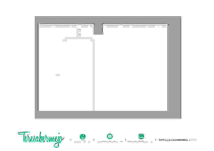 Detalle carpintería de Diseñadora de Interiores, Decoradora y Home Stager Rústico