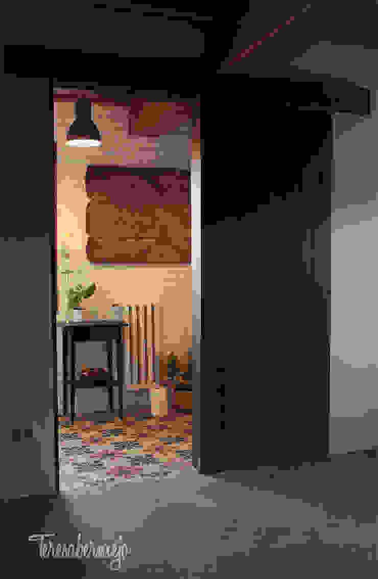 El baño de Víctor Baños de estilo rústico de Diseñadora de Interiores, Decoradora y Home Stager Rústico