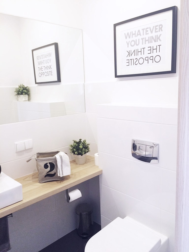 Scandinavian style bathroom by White Interior Design Scandinavian