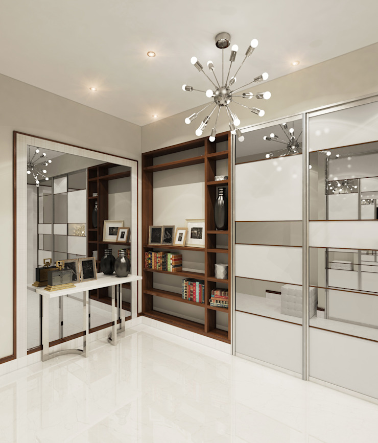 Modern Study Room and Home Office by Студия Искандарова Modern