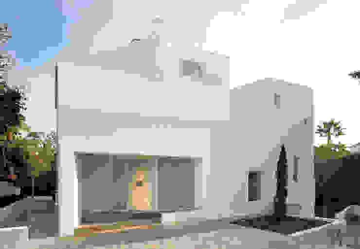 Casa en calle Alvarado. Sotogrande (Cádiz) Casas de estilo moderno de CHS arquitectos Moderno