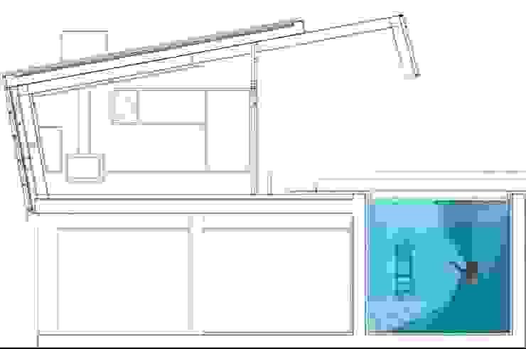 모던스타일 주택 by linobellotArquitecto 모던