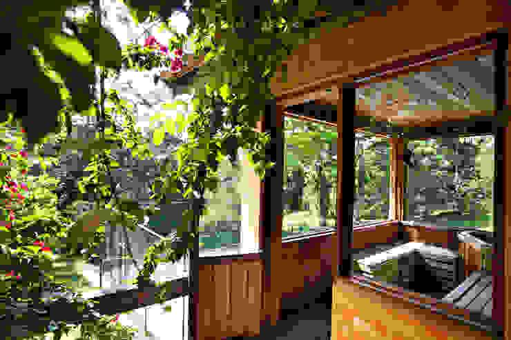 Rustic style houses by Bianka Mugnatto Design de Interiores Rustic