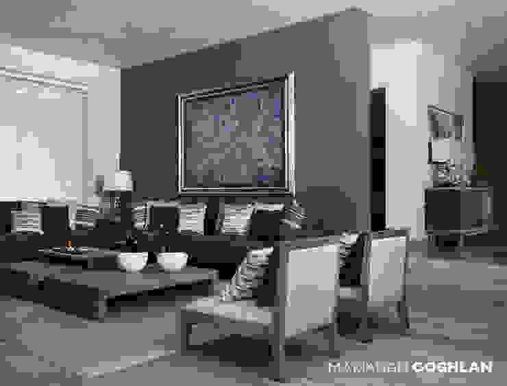Sala Livings de estilo moderno de MARIANGEL COGHLAN Moderno
