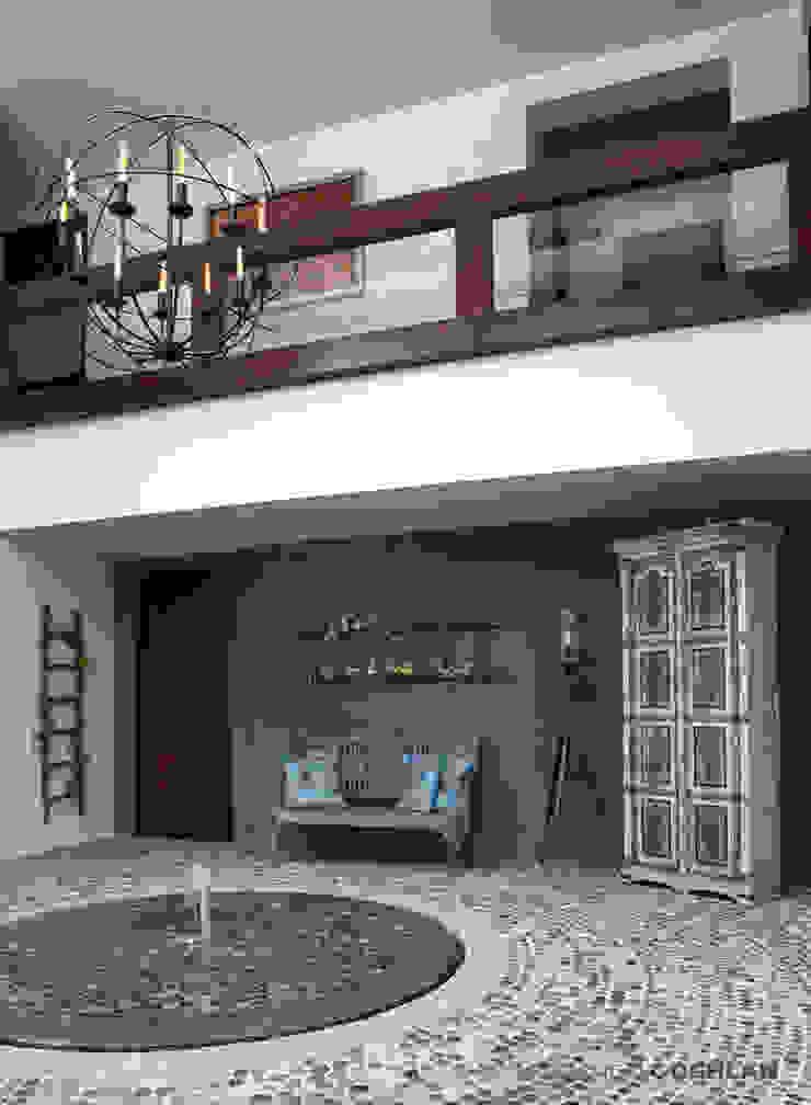 Terraza interior Balcones y terrazas modernos de MARIANGEL COGHLAN Moderno