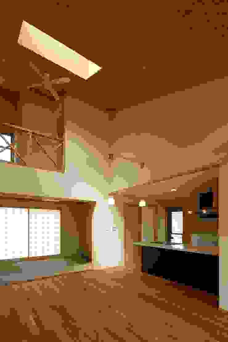 鶴居の家 オリジナルデザインの リビング の 辻建築設計室 オリジナル