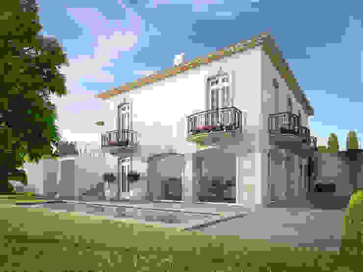 منازل تنفيذ Berga&Gonzalez - arquitectura y render, كلاسيكي