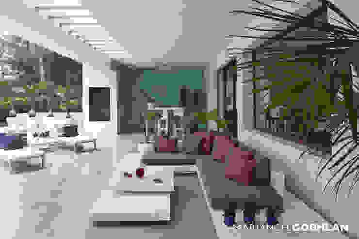 MARIANGEL COGHLAN Balcone, Veranda & Terrazza in stile moderno