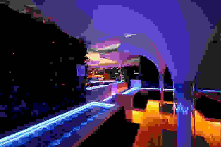 Hookah Lounge Satélite de BNKR Arquitectura Ecléctico